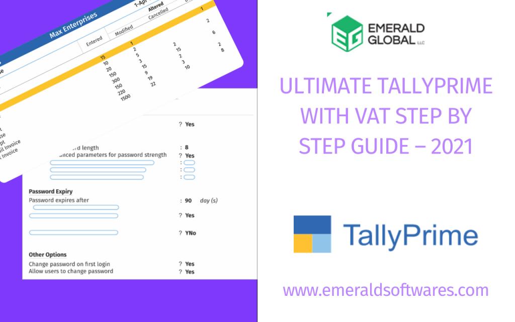 Tally Prime UAE - Emerald Softwares